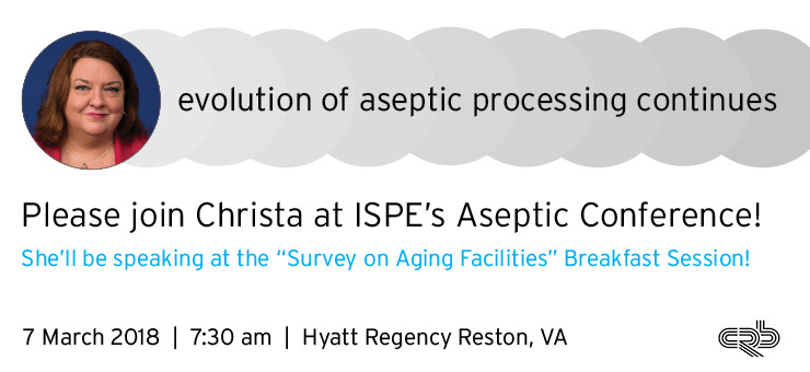 Aseptic Conference 2018 CRBnet