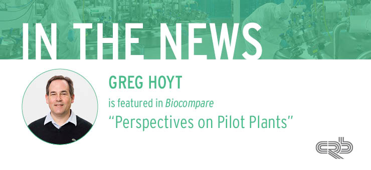 Greg Hoyt Article CRBnet