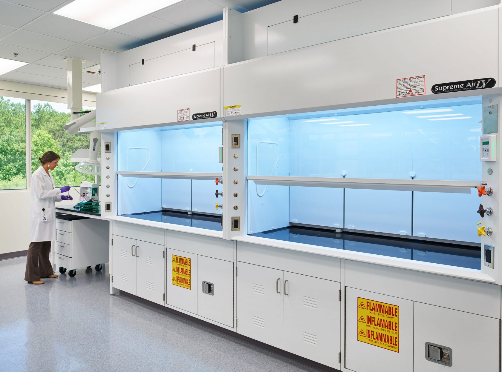 Lab Safety Fume Hood