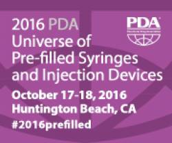 CRB at the 2016 PDA Universe of Pre-filled Syringes & Injection Devices