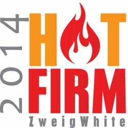 """CRB Named to Zweig's """"Hot Firm 2014"""" List of the Fastest-Growing Companies in A/E/P Industry"""
