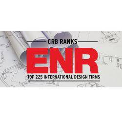 CRB ranks among the top 225 international design firms