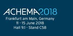 Meet CRB at ACHEMA 2018 in Frankfurt, Germany!