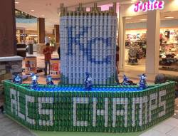 KC Hits a Home Run with Canstruction Project!