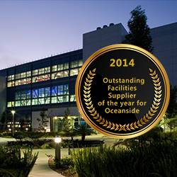 Roche Presents CRB with the 3rd Annual Global Facilities Procurement Supplier Recognition Award