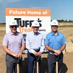 Tuffy's Pet Foods breaks ground on new pet treat facility