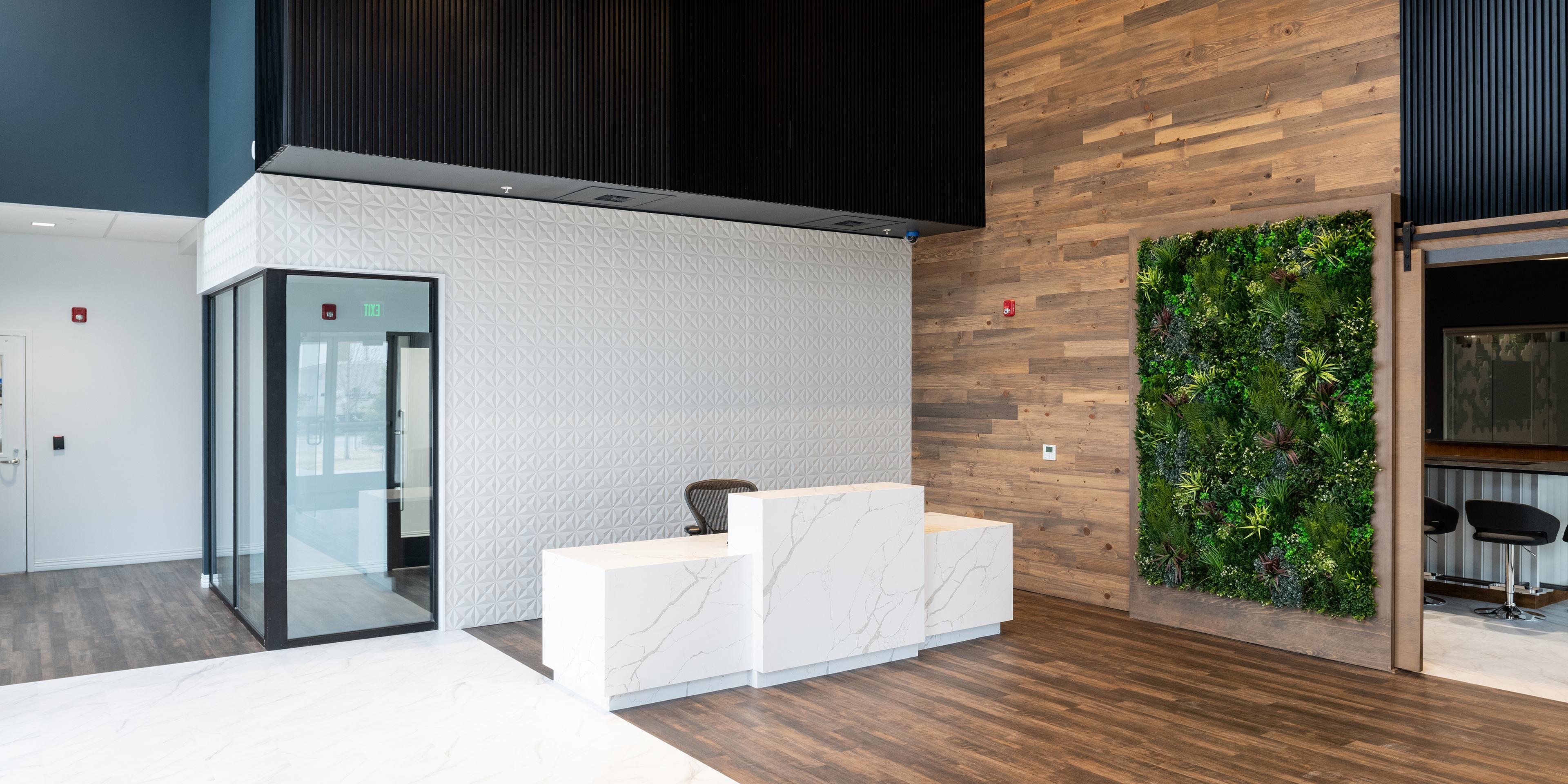MycoTechnology Plant-based protein facility lobby