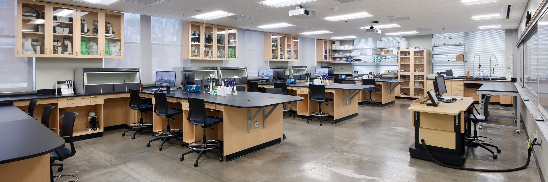 Biology Lab Renovation Planning