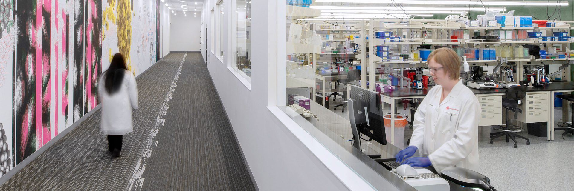 Bioanalytical Laboratory Facility Design + Construction