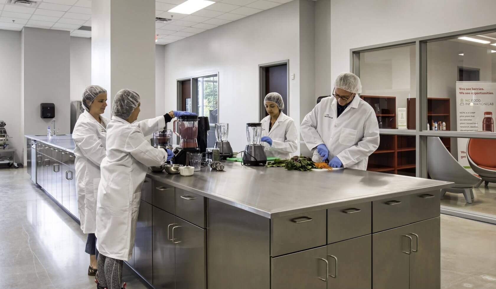 NCFIL plant-based food manufacturing innovation lab