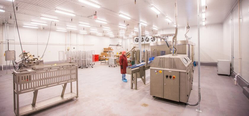 WellPet new pet food processing facility