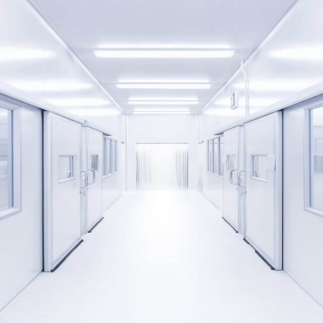 Energy efficient clean rooms