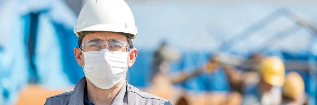 COVID construction site response plan