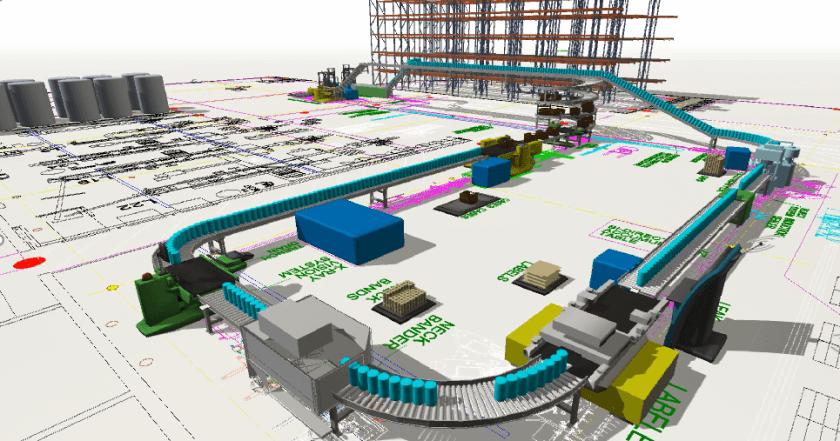Food facility simulation