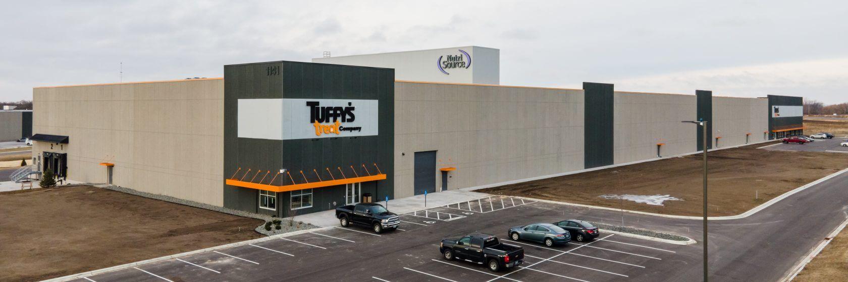 Tuffys Pet Treats Plant Opening