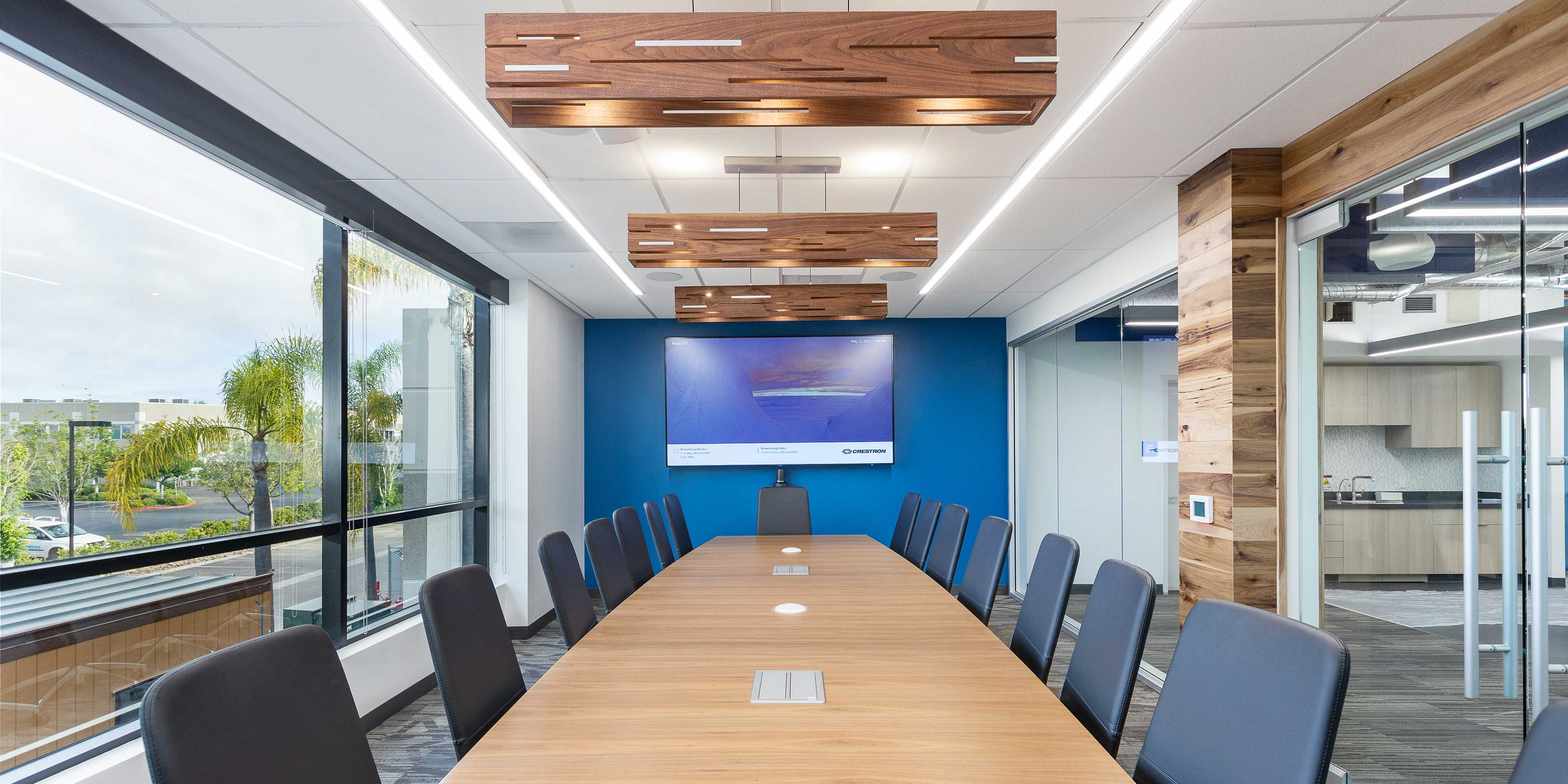 Boardroom in Abzena's new San Diego facility