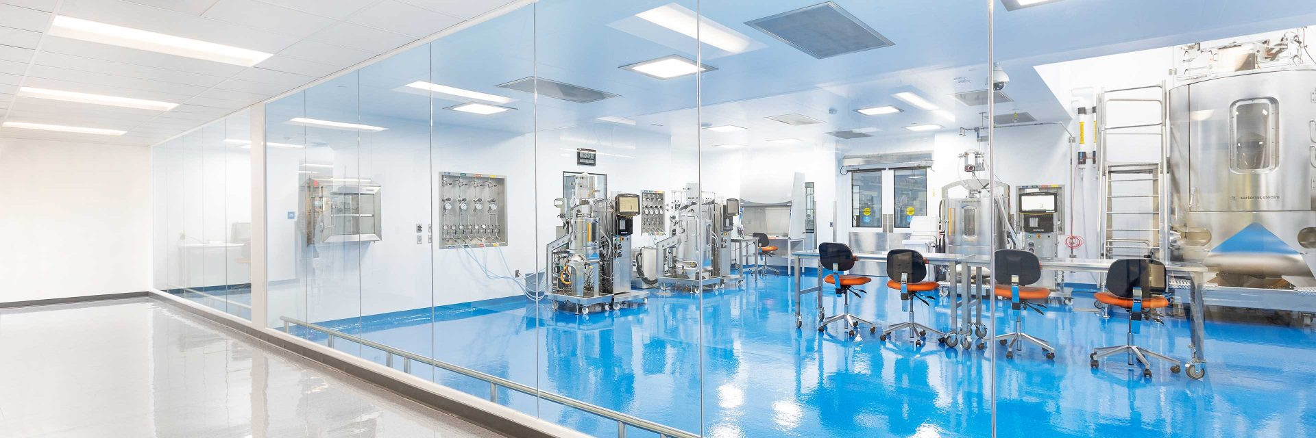 Processing space in Abzena's biopharma facility