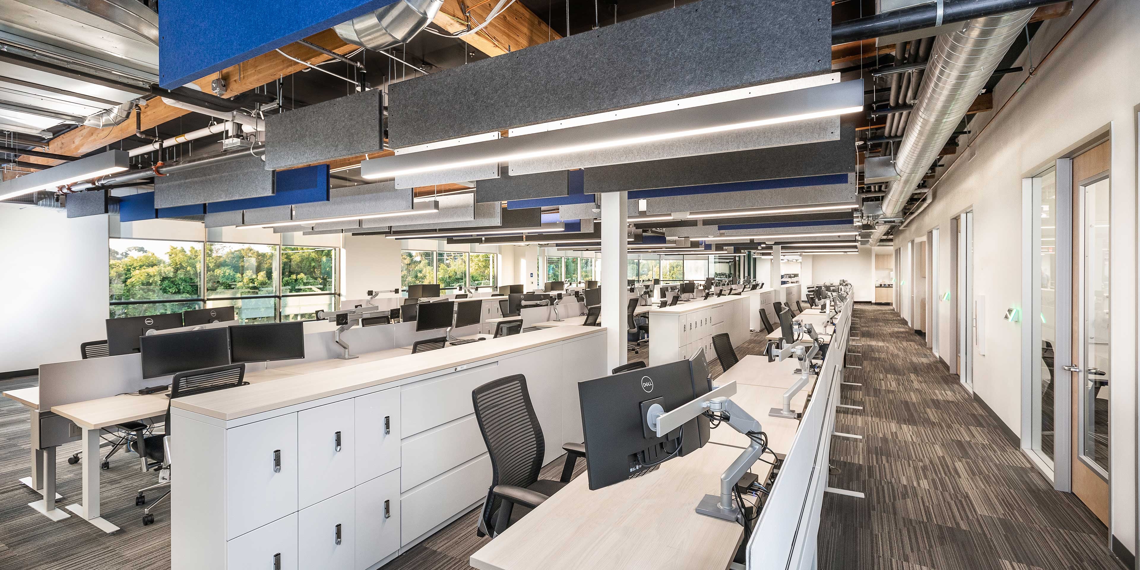 Office space in Abzena's new San Diego biopharma manufacturing facility