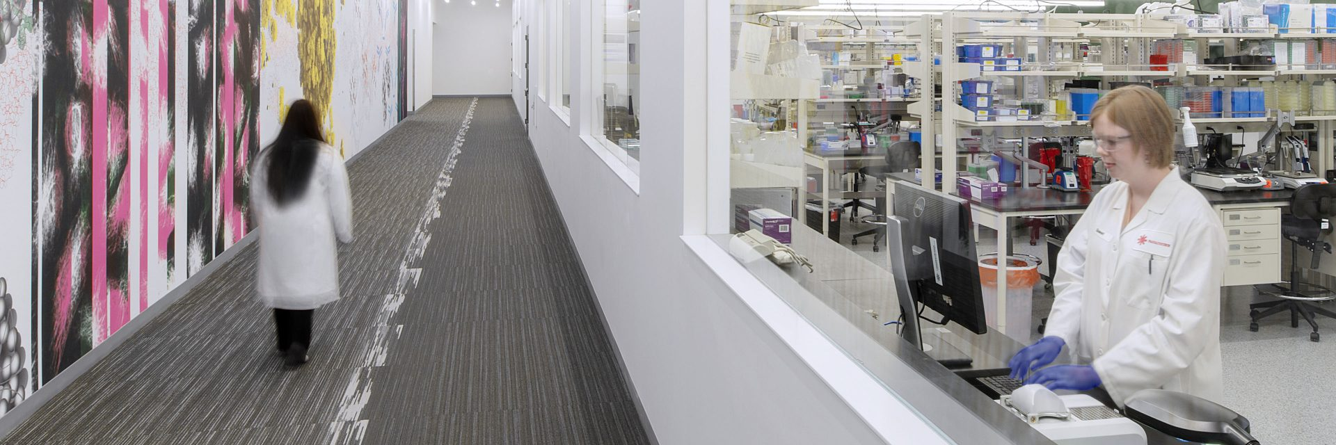 Looking inside a bioanalytical lab