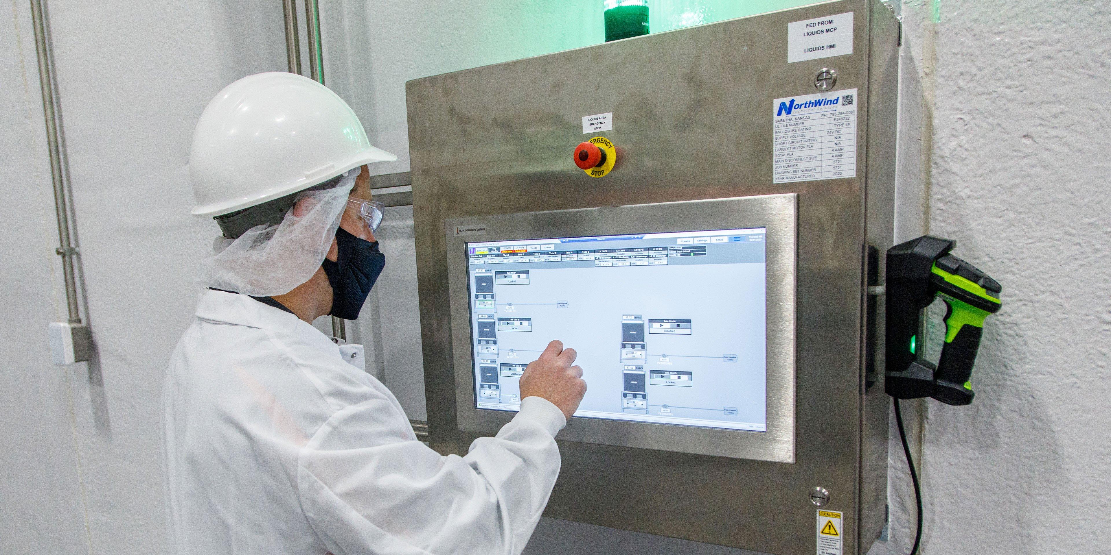liquid batching automation controls