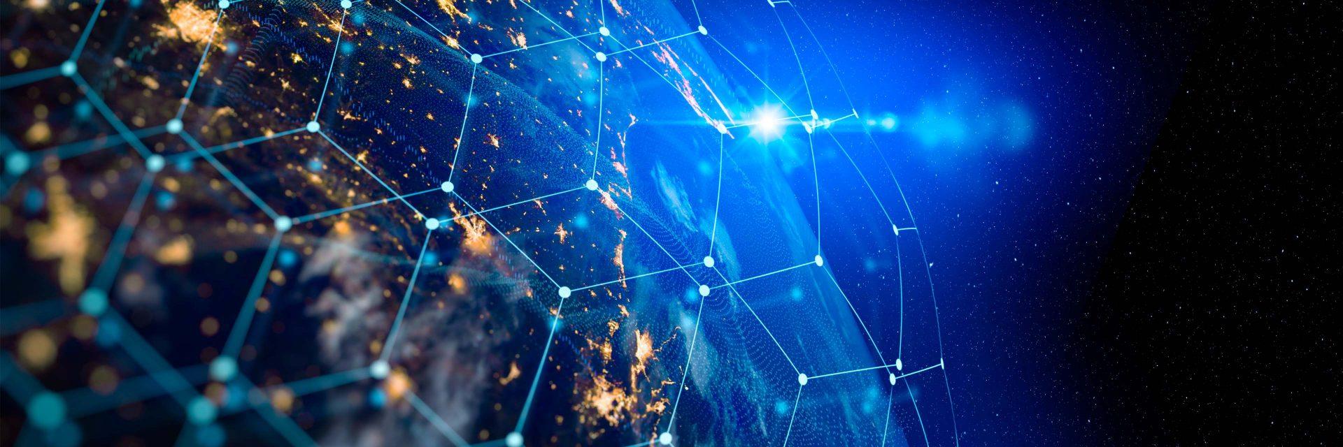 Connected international biopharma industry